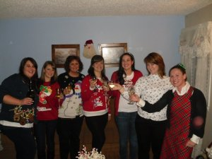 ugly sweater girls 2011
