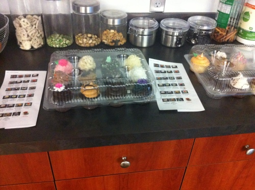 office cupcakes